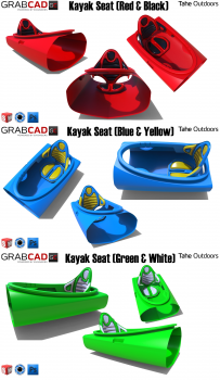 Tahe Outdoor Kayak Seat