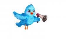 Иллюстрация персонажа- Твиттер