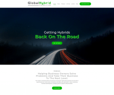 Стилизация сайта GlobalHybrid