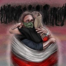 Иллюстрация на тему «Жыве Беларусь»