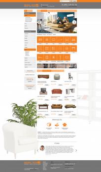 Дизайн интернет-магазина для МebelBos