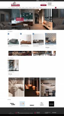 Сайт студии интерьеров и мебели.