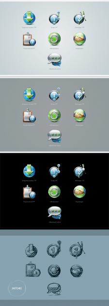 Набор иконок для приложения