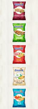 Дизайн упаковок сухарей