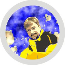 Цветной векторный портрет