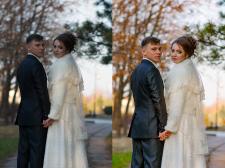 Ретушь, цветокоррекция свадебного фото