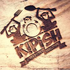 """Лого ресторана """"Kipish"""" (Киев)."""