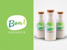 Логотип для производителя натуральных йогуртов