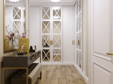 Квартира 78кв.м. в классическом стиле