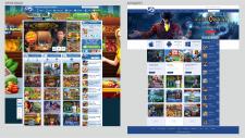 Концепт нового оформления сайта-разработчика игр