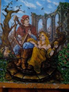 Арфист и Нимфа
