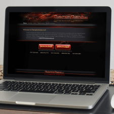 Розробка дизайну сайту казино
