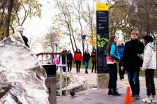 Пешеходная навигация для центра Киева