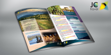 Разработка журнала компании JC travel
