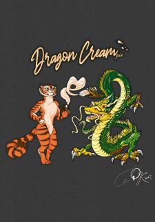 Принт. Dragon Cream
