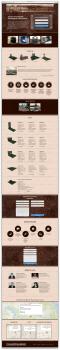 LandingPage для компании по производству гранита