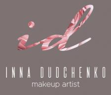 Логотип для визажиста Инны Дудченко