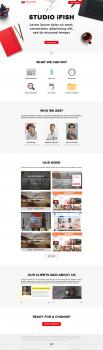 Дизайн сайт веб-студии