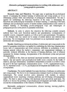 Переклад наукової статті на лінгвістичну тематику