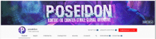 Оформление YouTube канала Poseidon