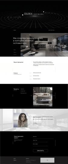 Сайт Дизайн-бюро мебели