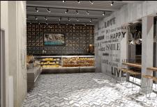 Дизайн проект зоны самовывоза ресторана