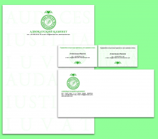 Фирменный стиль/Corporate identity for a lawyer