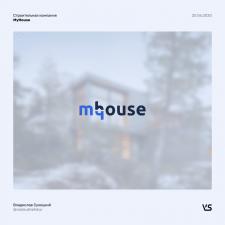 Логотип строительной компании MyHouse