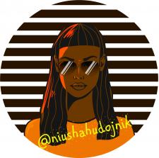 Аватар для профиля в социальных сетях. Портрет