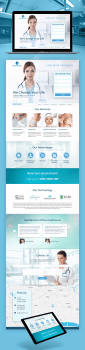 Bloomclinic | Landing Page