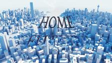 """Логотип строительной компании """"Home Future"""""""