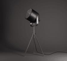 Моделирование и визуализация, лампа