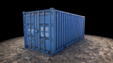 3D Shipping container