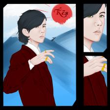 Иллюстрация персонажа для ролевой.игры