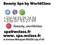 дизайн визитки  beauty spa