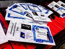 Дизайн билетов на концерт/выставку