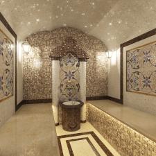 Проект хамама в частном доме