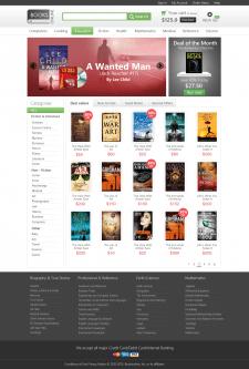 Адаптивная верстка сайта BooksOnline