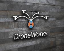 """Логотип для компании """"DroneWorks"""""""