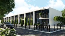 Моделирование и визуализация экстерьера жилого мно