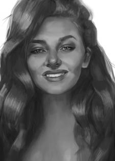 CG,  portrait