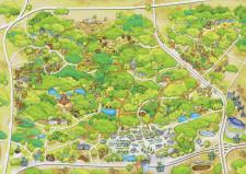 Карта Гоголевского парка