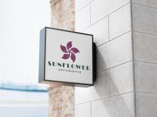 Вывеска для цветочного магазина Sunflower