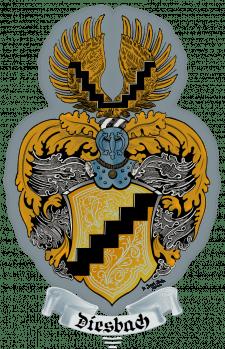 Векторизація герба швейцарського міста Diesbach