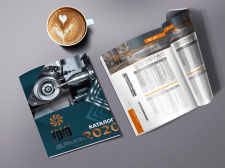 Многостраничная журнальная верстка (дизайн)