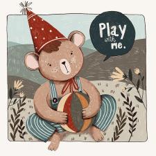 Грустный мишка