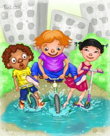 Дети. Иллюстрация