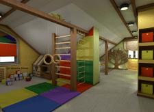 Дизайн-проект детской комнаты 50М2