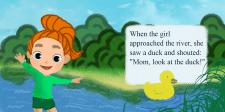 Рыжая девочка иллюстрация для книжки