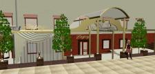 Проект фасада ресторана